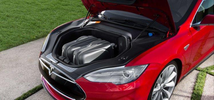 Tesla Model S Front Trunk
